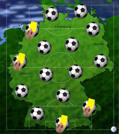 meisten gelben karten