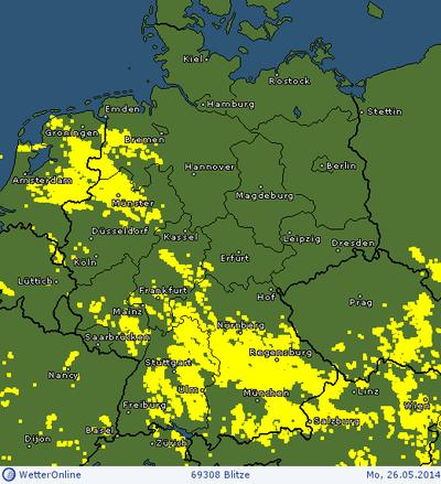 Wetteronline Regenradar Hessen