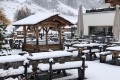 Wintereinbruch in den Alpen
